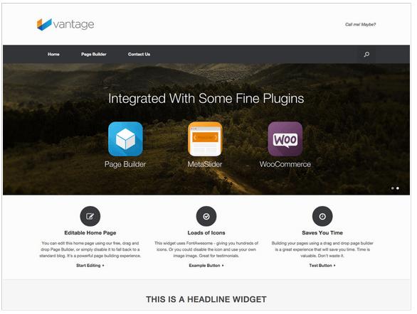 Vantage-Theme-Screenshot